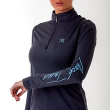 MARK TODD COMPETITION BASE LAYER - NAVY - RRP £35 . 00